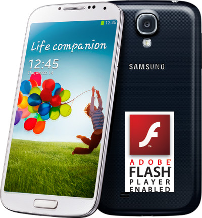 enable flash on galaxy s4